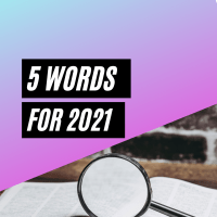 5 Words to look out for in 2021