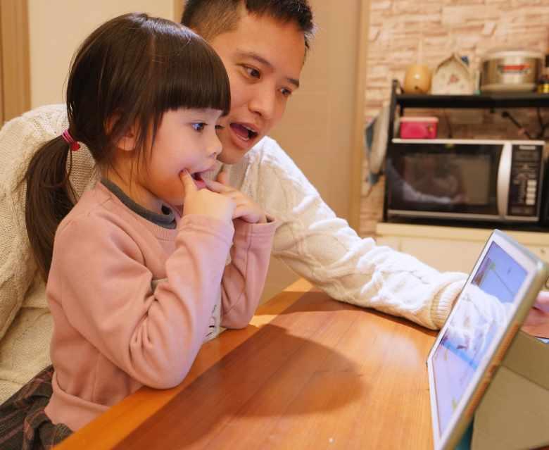 親子共學,學習效果更加倍