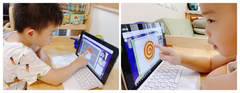 課後有遊戲式小作業,上課的教材也都可以列印出來再運用