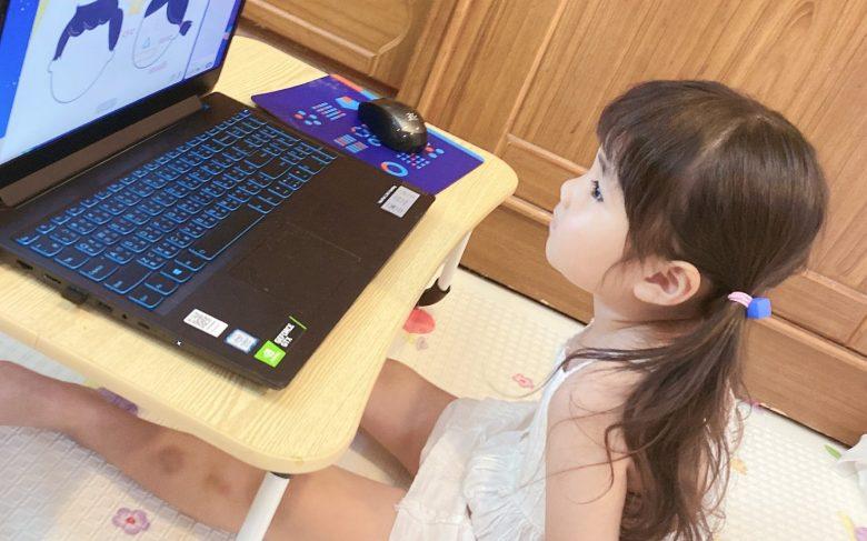 透過圖像式的學習讓孩子不會感到無趣呆板