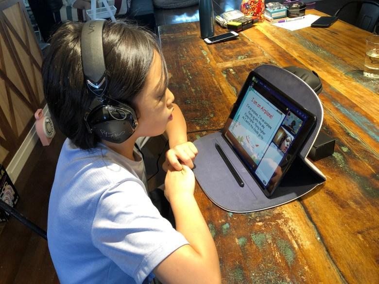 線上英文可以營造與母語人士對話的環境