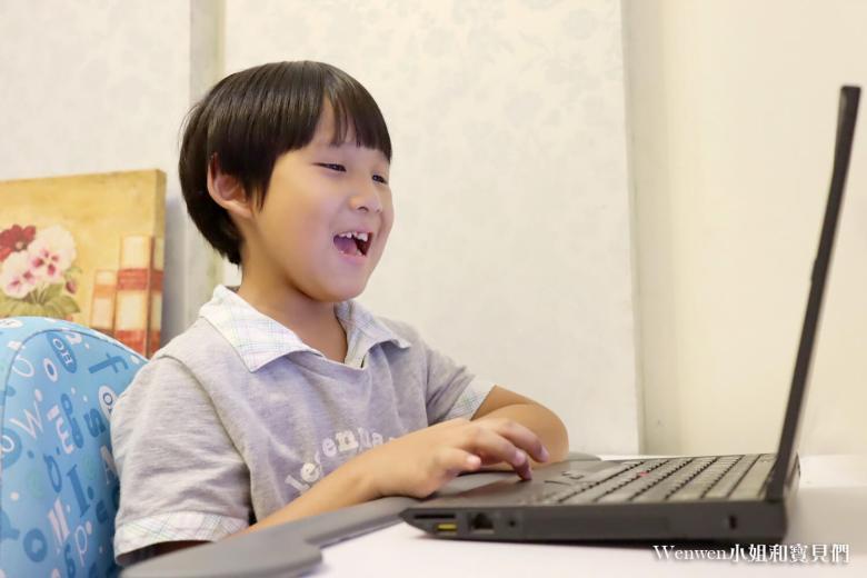 東尼上OiKID真的很開心,就像英文老師在我家。