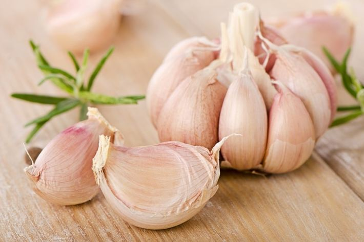Tom Kha Soup: Garlic
