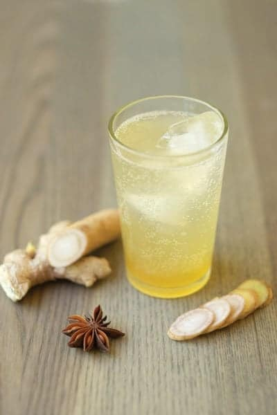 Burdock and Ginger Soda