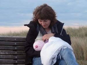 Breastfeeding in public #FreeTheNipple