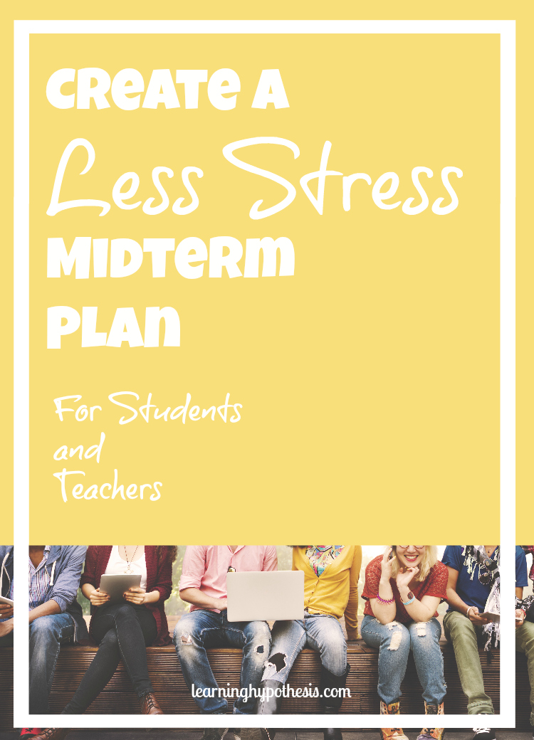 Study Tips and Other Steps to Decrease Midterm Stress