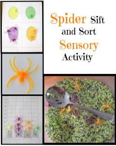 Spider Sensory Play