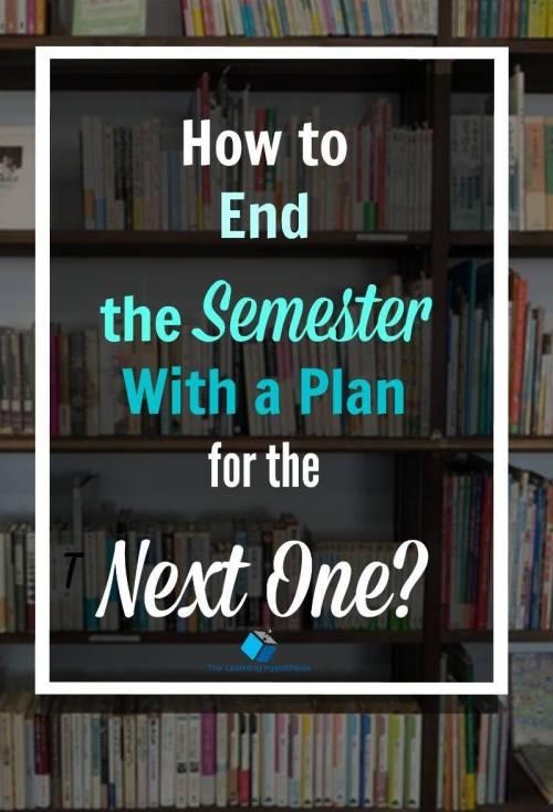 Semester Checklist