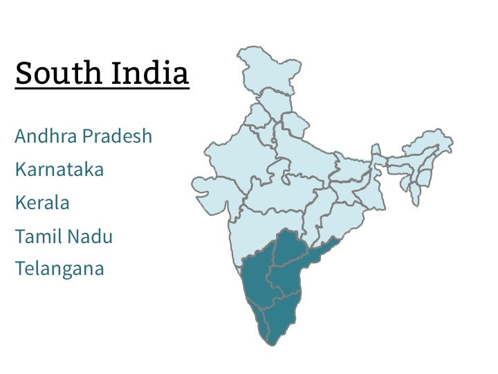 six natural regions of india