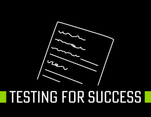 Testing for success strategy document