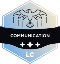 Leading-level Communication Badge