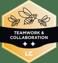 Engaged-level Teamwork & Collaboration Badge