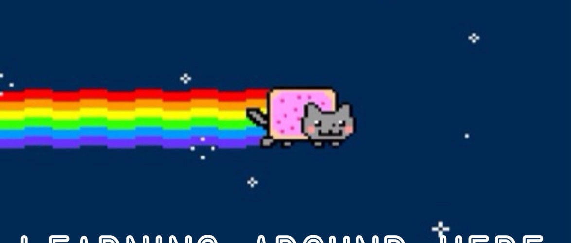 """Just for Kevin Croghan, here is the """"Learning Nyan Cat."""""""