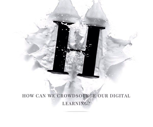 How Can We Crowdsource Our Digital Learning?