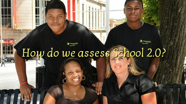 How do we assess School 2.0?