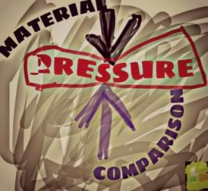 Material things, comparison suppressing Pressure