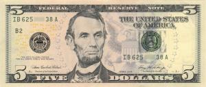 Abraham Lincoln on US Dollar