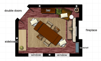 New Dining Room Floor Plan | Learning Is Social