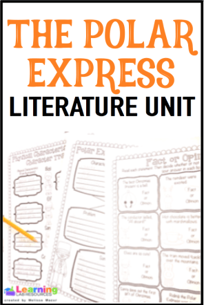 These Polar Express comprehension and writing activities are perfect for the older kids to complete before Christmas!