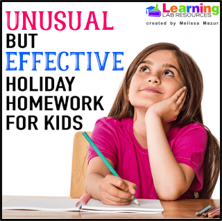 Unusual but Effective Holiday Homework for Kids