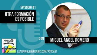 Episodio 1 del podcast con Miguel Angel Romero
