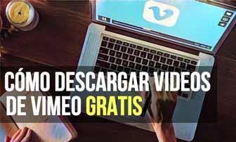 Cómo descargar videos de Vimeo gratis
