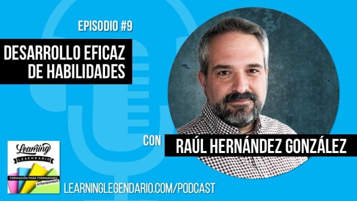 portada podcast episodio 9 con Raúl Hernández González