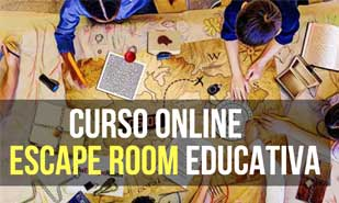 Curso online para aprender a crear tu Escape Room Educativa paso a paso