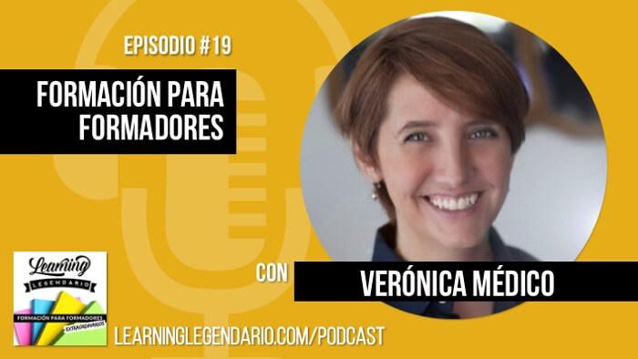 podcast entrevista Verónica Médico sobre formación para formadores