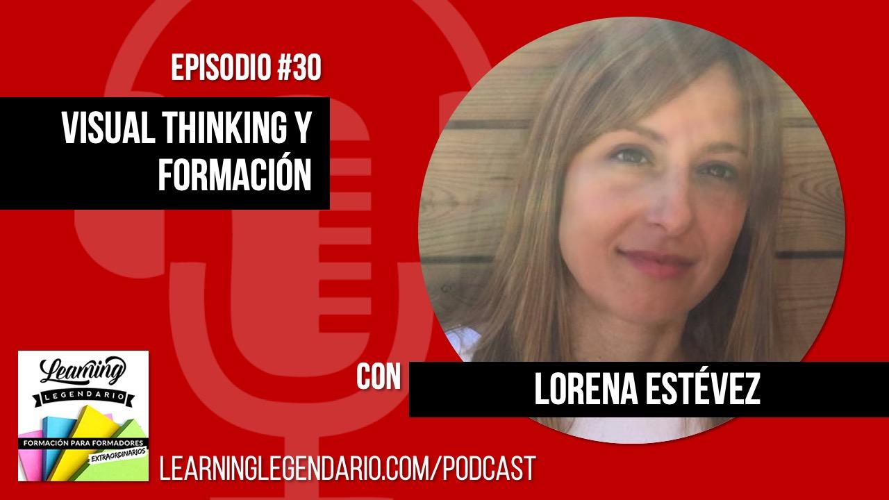 Entrevista a lorena estevez sobre pensamiento visual y formación