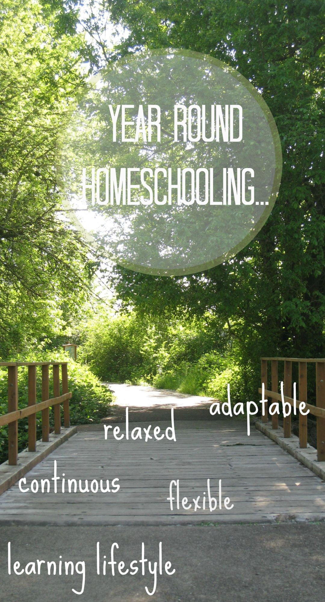 Why we embrace year round homeschooling | www.learningmama.com