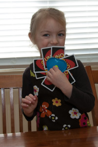 Learning math through games -UNO!