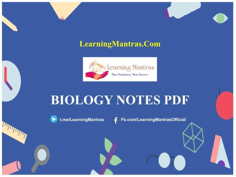 Biology Notes PDF