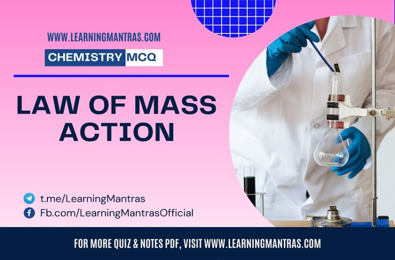 MCQ on Law of Mass Action