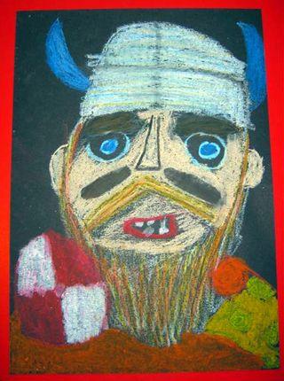 Cressida Cowell Viking Portraits Art Activity For Kids