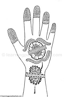 Simple And Easy Mehndi Design For Hand Mehndi Designs
