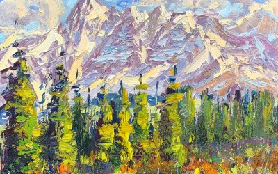 """How To Make Your Plein Air Oil Painting Colors """"Pop"""""""