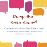 Dump the smile sheet