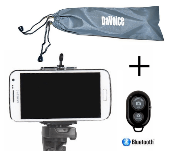 new concept c753a b5c45 Cell Phone Tripod Adapter - Bluetooth Remote Control - Travel Bag -  Learning Rebels