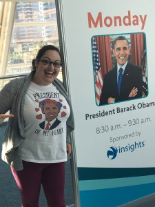 Kate PInto ATD ICE 2018 with Obama
