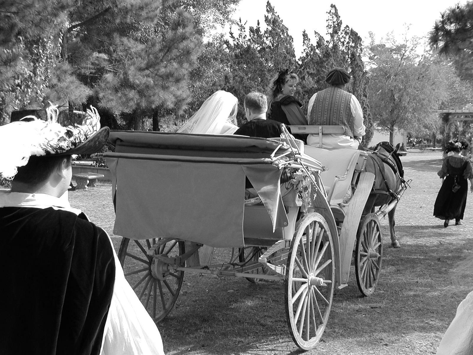 Carriage B & W