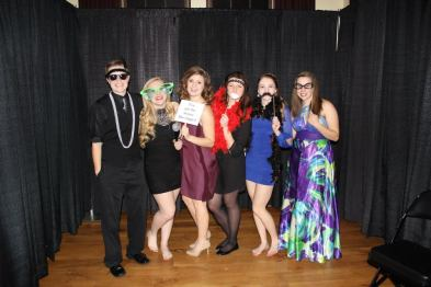 Some of my lovely residents and roommate at the Honors Charity Ball
