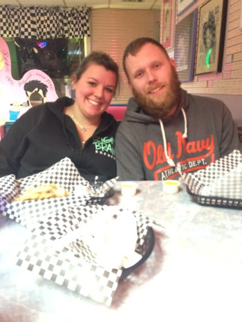 Allyse and Jay at our visit to Pixies! So glad I got to see them!
