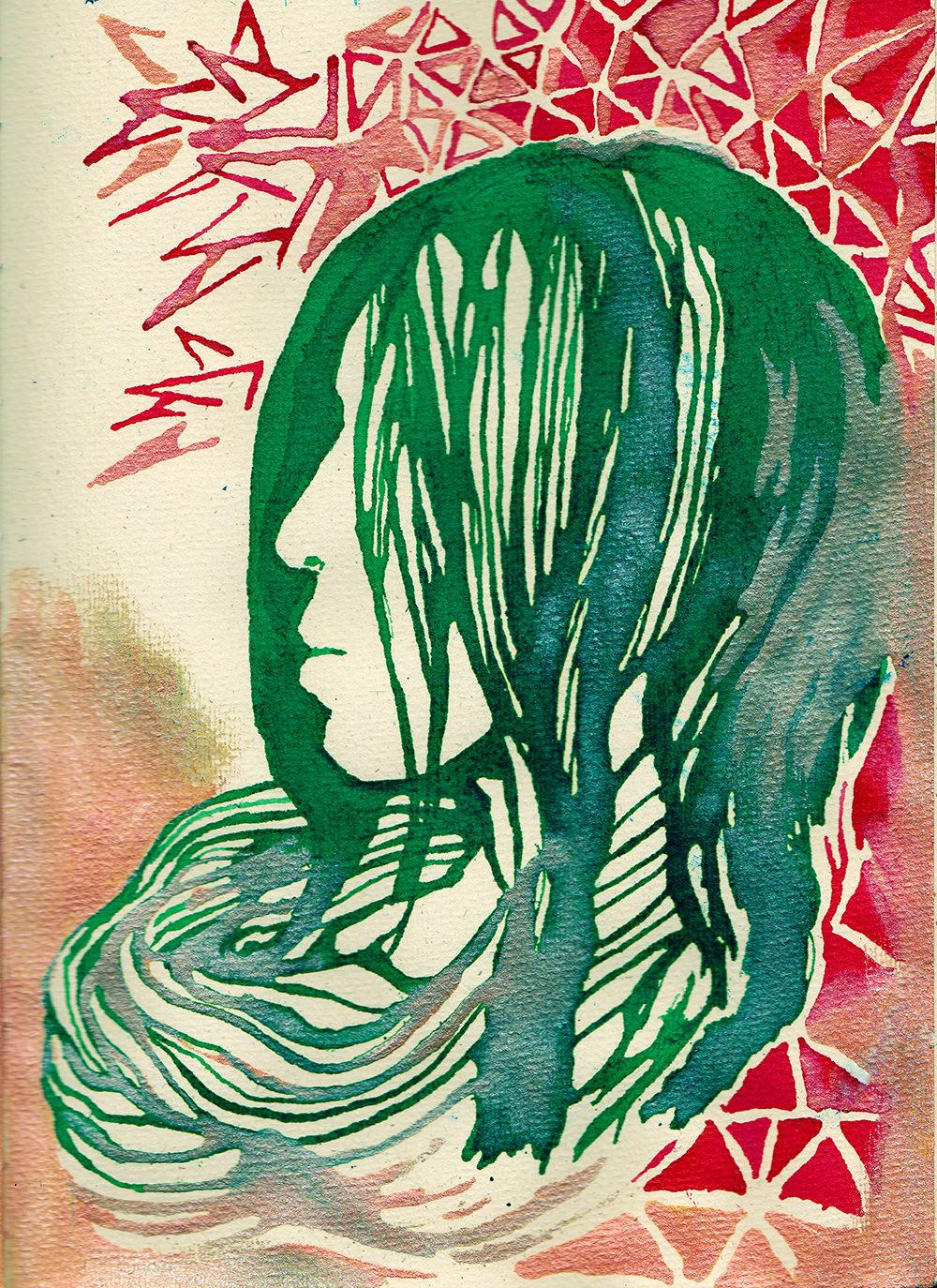 Sketchbook of Jenie Gao - watercolor