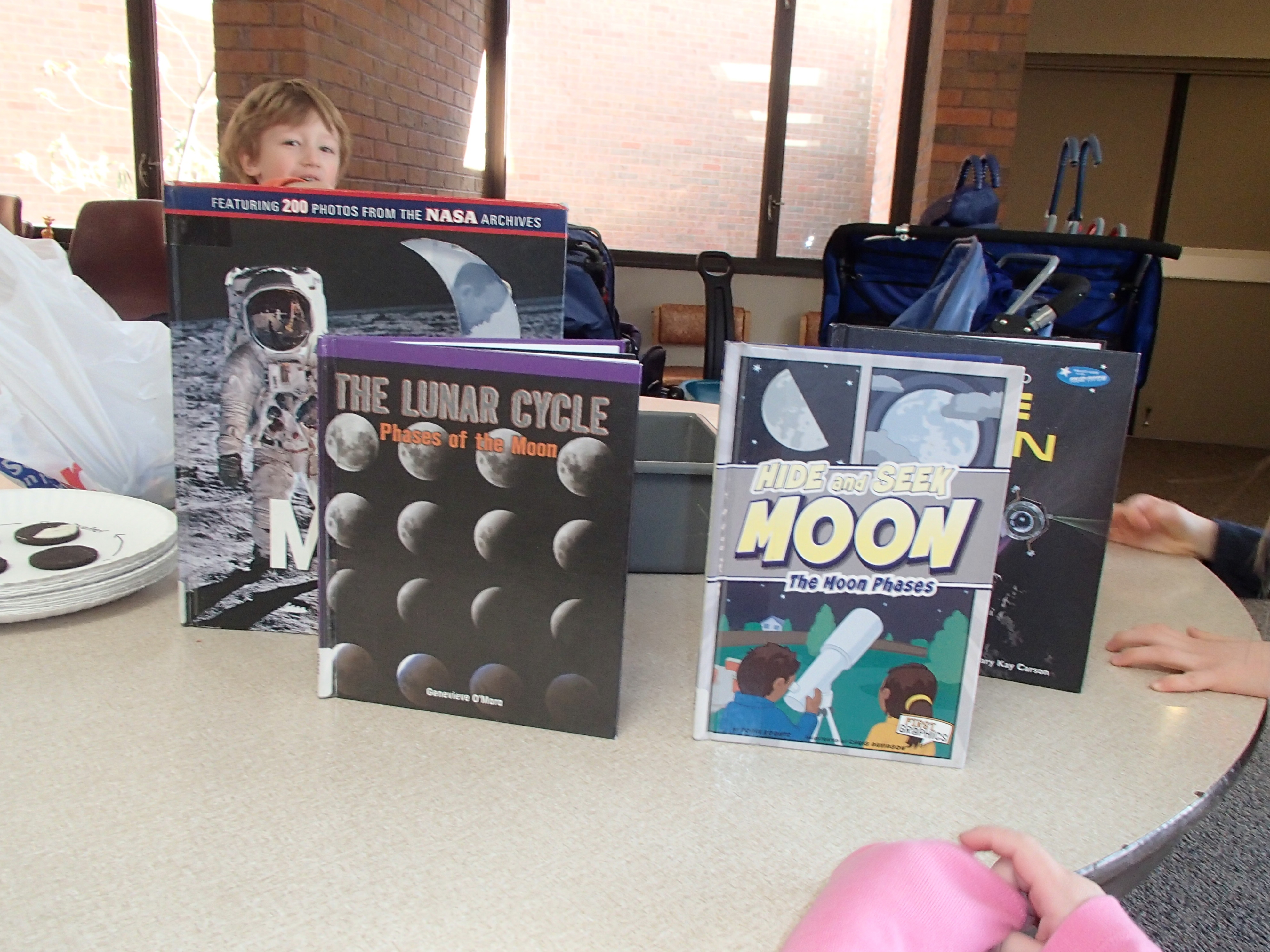 Phases Of The Moon With Preschoolers