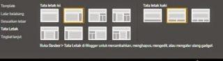 cara mengatur desain template di blog 1