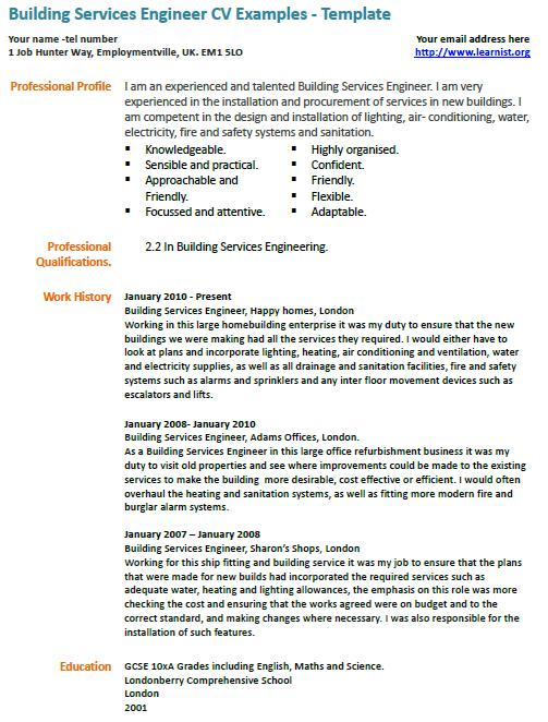 Building services engineer resume sample cover letter tennis instructor free cover letter