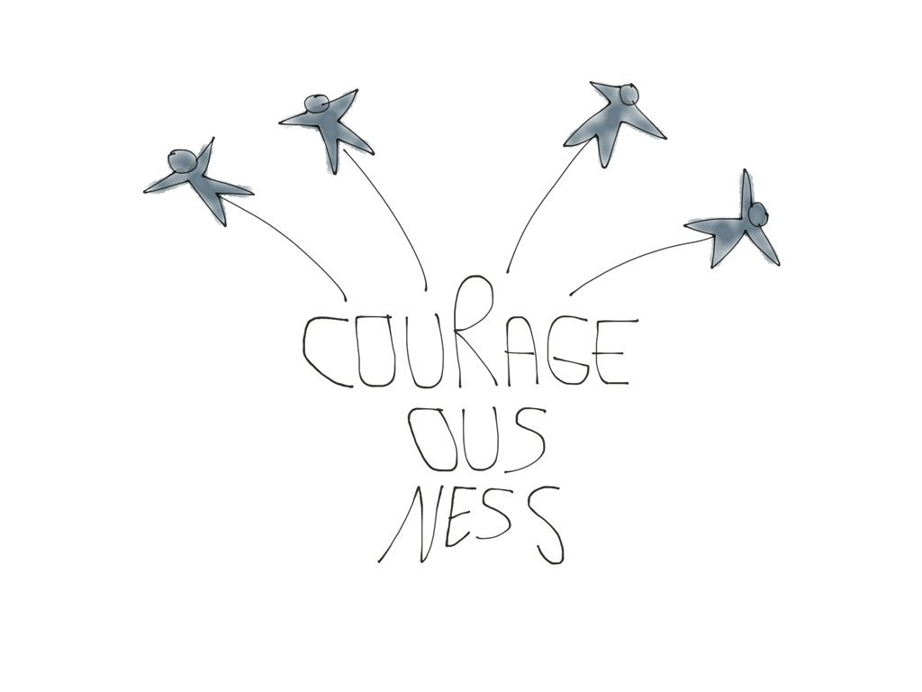 Core Values Courageousness LRN LAF LUV LIV LYF Learn Laugh Love Live Life