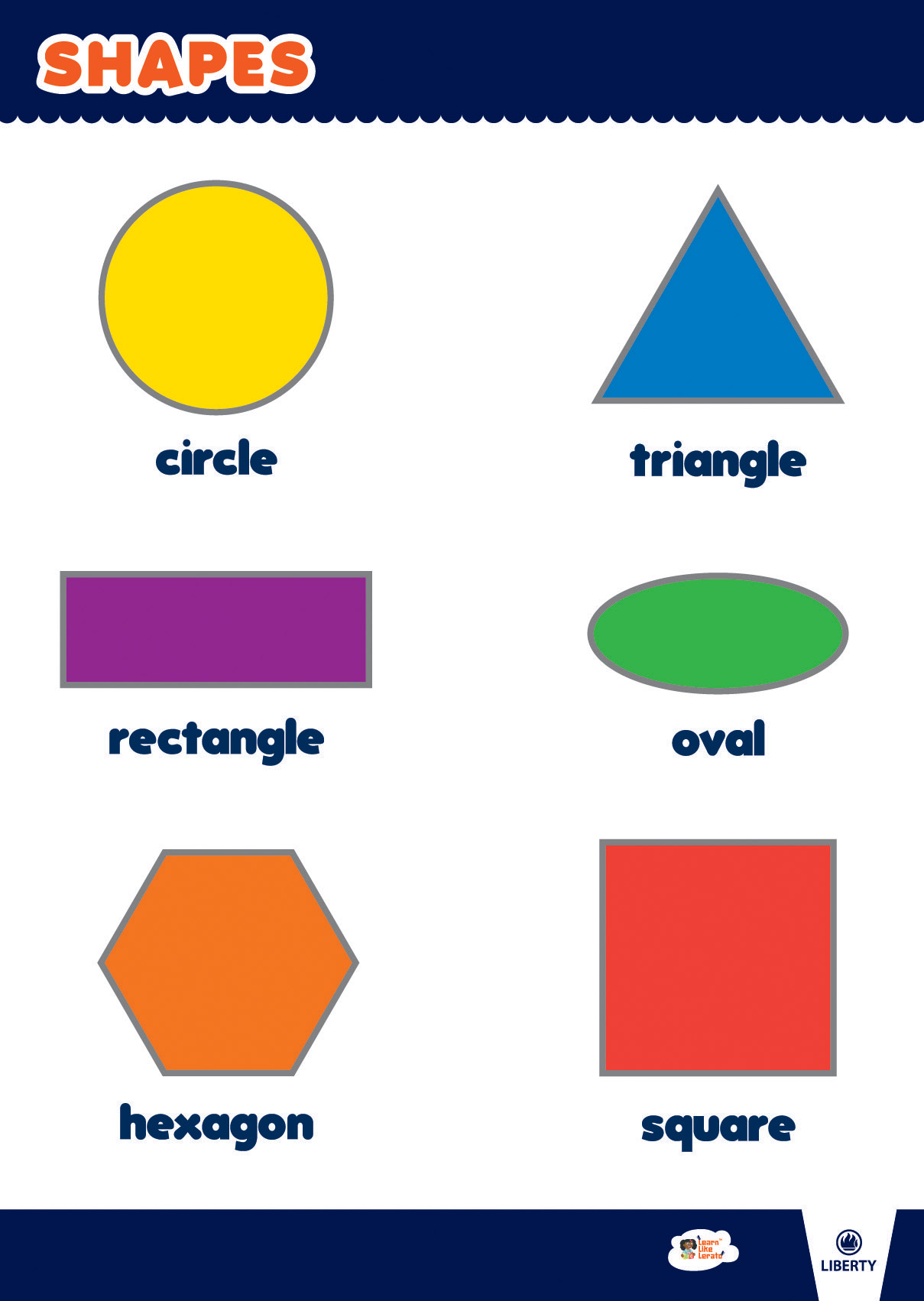 Learn Like Lerato 2d Shapes