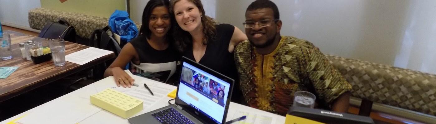 LTLT Event Happy Volunteers